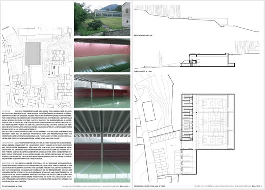 andreas amrein dipl architekt eth sursee 105 schulsporthalle berufsschule brig. Black Bedroom Furniture Sets. Home Design Ideas